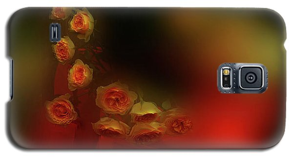 Floral Art 8 Galaxy S5 Case