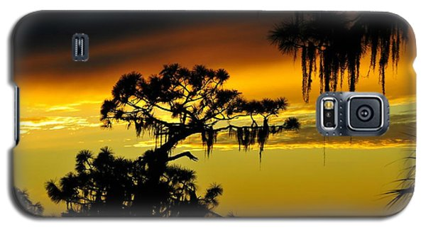Galaxy S5 Case featuring the photograph Central Florida Sunset by David Lee Thompson