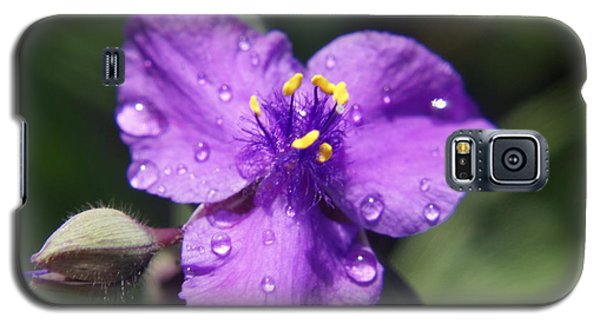 Galaxy S5 Case featuring the photograph Flower by Heidi Poulin
