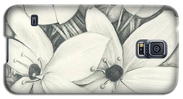 Flowers Pencil Galaxy S5 Case