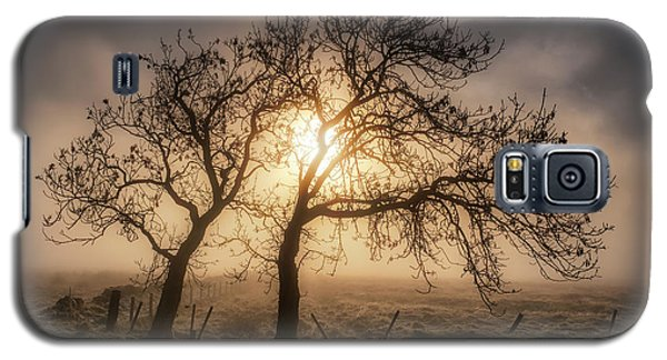 Galaxy S5 Case featuring the photograph Foggy Morning by Jeremy Lavender Photography