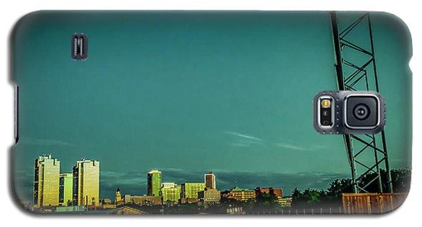 Fortworth Texas Cityscape Galaxy S5 Case