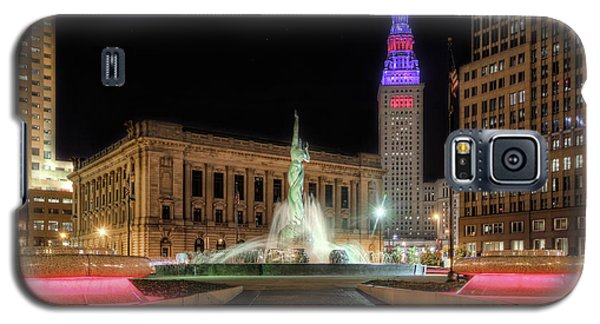 Galaxy S5 Case featuring the photograph  Fountain Of Eternal Life by Brent Durken
