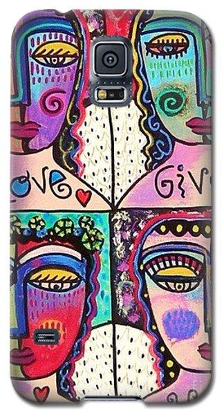 Four Gemstone Angels  Galaxy S5 Case