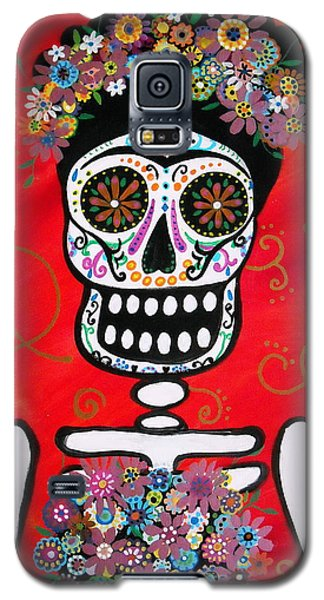 Frida Dia De Los Muertos Galaxy S5 Case by Pristine Cartera Turkus