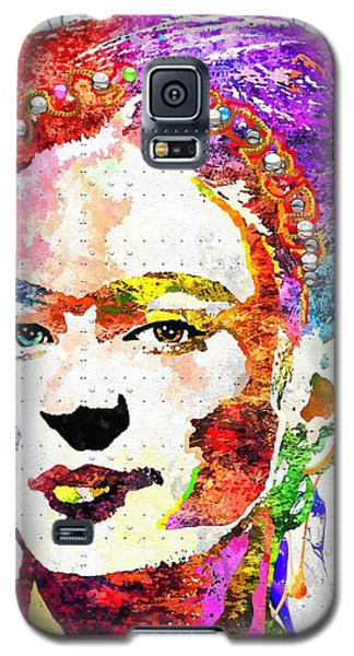 Frida Kahlo Grunge Galaxy S5 Case by Daniel Janda