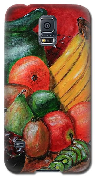 Fruit And Pitcher Galaxy S5 Case by Melvin Turner