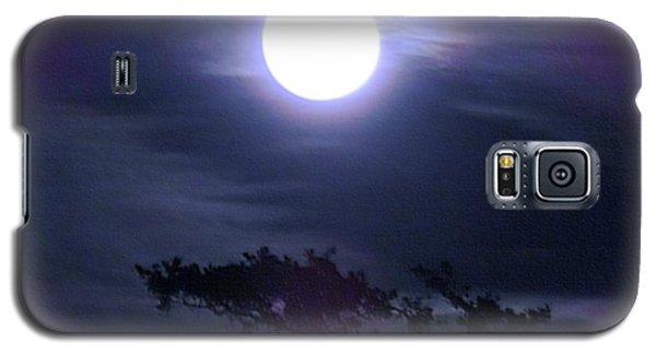 Full Moon Falling Galaxy S5 Case