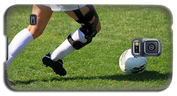 Futbol Galaxy S5 Case by Laddie Halupa