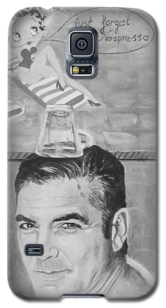 George Clooney Galaxy S5 Case