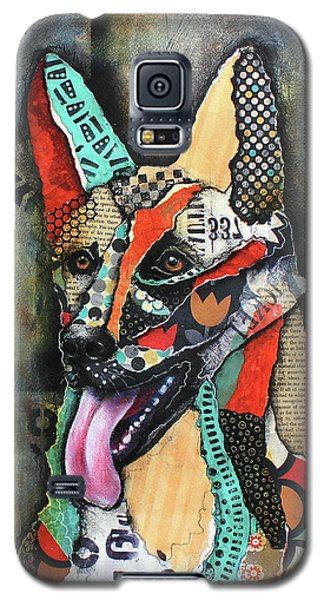 German Shepherd Galaxy S5 Case