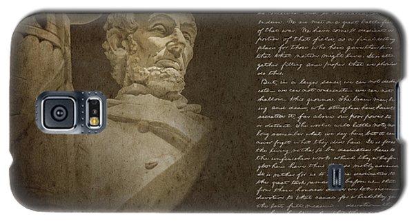 Gettysburg Address Galaxy S5 Case by Diane Diederich
