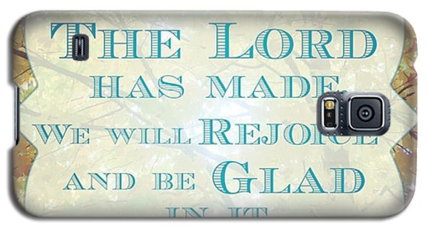 Design Galaxy S5 Case - Give Thanks To The Lord, For He Is by LIFT Women's Ministry designs --by Julie Hurttgam