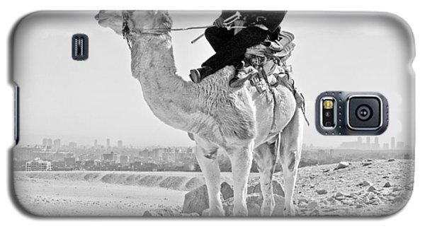 Giza Pyramids Camel Tourist Police Galaxy S5 Case