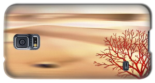 Galaxy S5 Case featuring the digital art Global Warming by Klara Acel