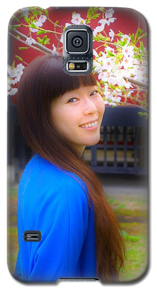 Galaxy S5 Case featuring the photograph Glow by Tim Ernst