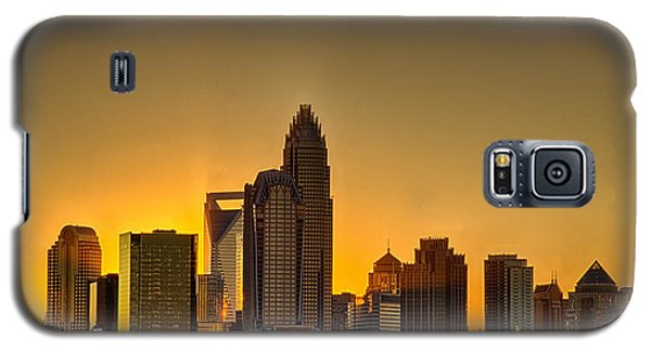 Golden Charlotte Skyline Galaxy S5 Case