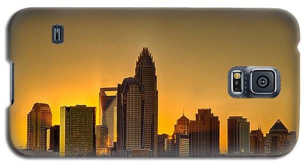 Golden Charlotte Skyline Galaxy S5 Case