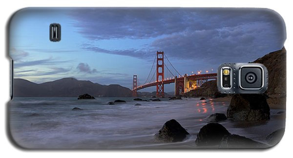 Galaxy S5 Case featuring the photograph Golden Gate Bridge by Evgeny Vasenev