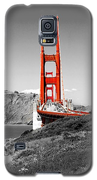 Architecture Galaxy S5 Cases - Golden Gate Galaxy S5 Case by Greg Fortier