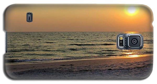 Golden Setting Sun Galaxy S5 Case