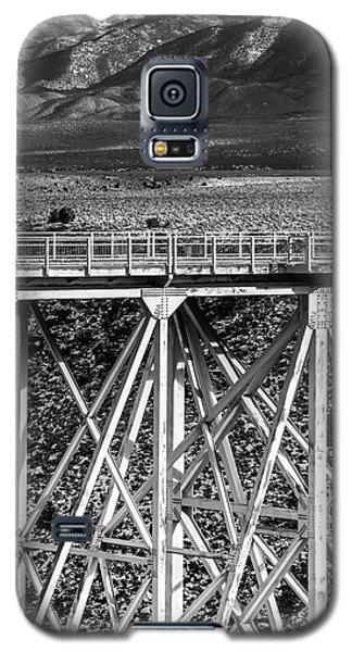Gorge Bridge Black And White Galaxy S5 Case