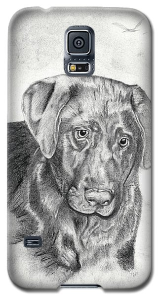 Galaxy S5 Case featuring the drawing Gozar by Mayhem Mediums