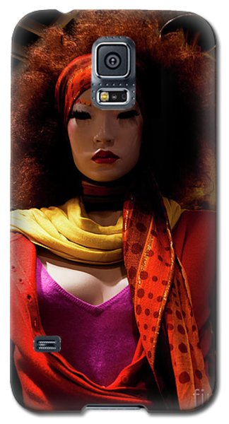 Colored Girl Galaxy S5 Case