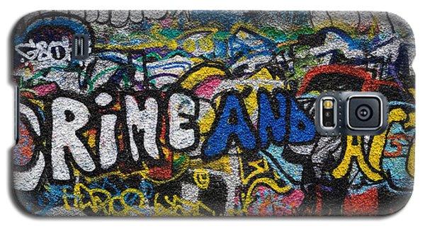 Grafitti On The U2 Wall, Windmill Lane Galaxy S5 Case