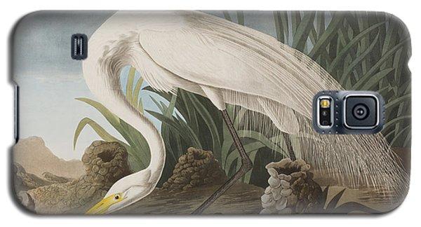 Great Egret Galaxy S5 Case by John James Audubon