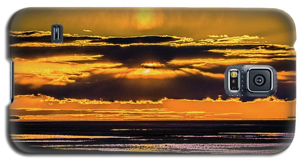 Great Salt Lake Sunset Galaxy S5 Case