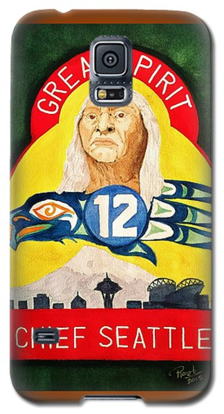 Great Spirit Seattle 12s Galaxy S5 Case by Rand Swift
