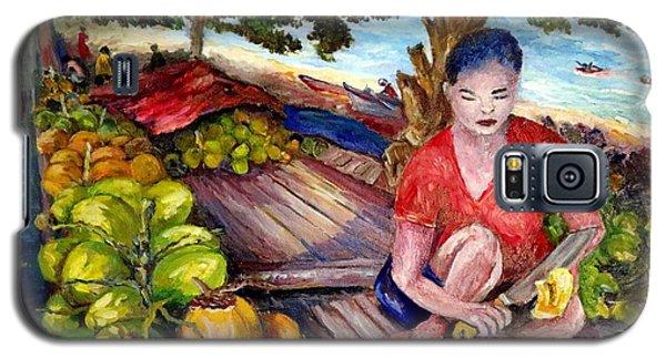 Green Coconut Cafe. Galaxy S5 Case