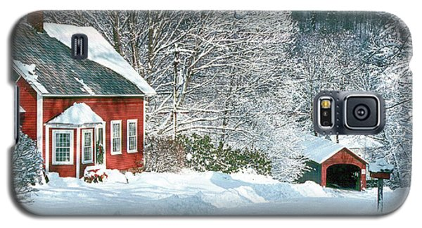 Green River Bridge In Snow Galaxy S5 Case by Paul Miller
