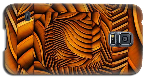 Galaxy S5 Case featuring the digital art Groovy by Ron Bissett