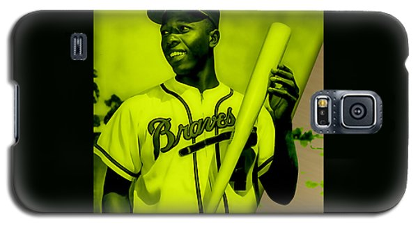 Hank Aaron Collection Galaxy S5 Case by Marvin Blaine