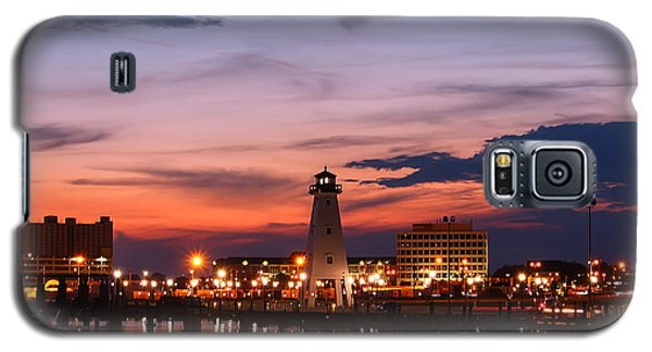 Harbor Lights Galaxy S5 Case by Brian Wright