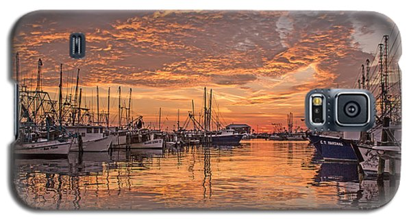 Harboring Reflections Galaxy S5 Case by Brian Wright