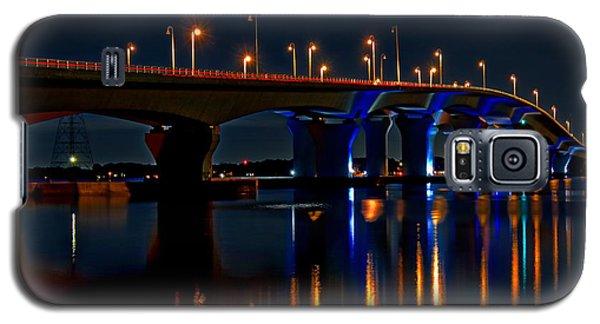 Hathaway Bridge At Night Galaxy S5 Case