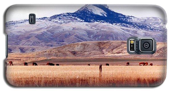 Hart Mountain - Cody,  Wyoming Galaxy S5 Case