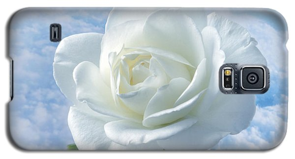 Heavenly White Rose. Galaxy S5 Case by Terence Davis