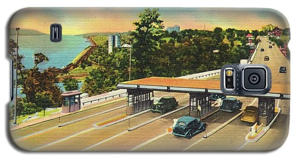 Henry Hudson Bridge Postcard  Galaxy S5 Case