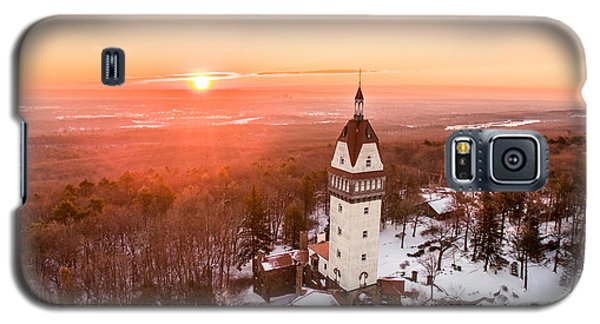 Heublein Tower In Simsbury, Connecticut Galaxy S5 Case by Petr Hejl