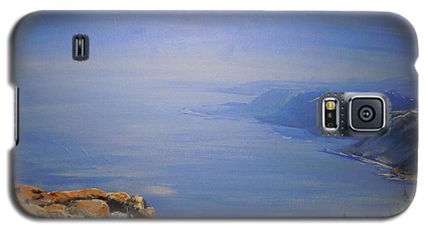 Galaxy S5 Case featuring the painting High Above by Dan Whittemore