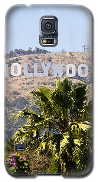 Hollywood Sign Photo Galaxy S5 Case by Paul Velgos