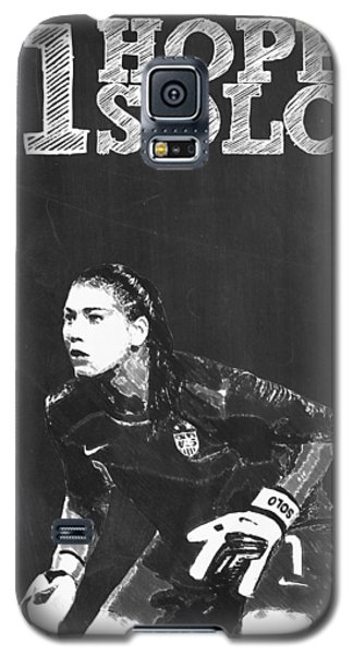 Hope Solo Galaxy S5 Case by Semih Yurdabak