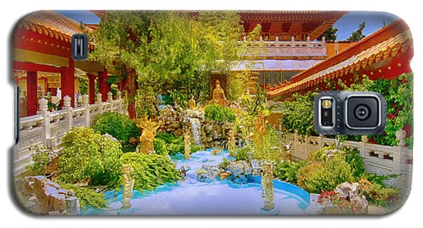 Hsi Lai Temple Galaxy S5 Case by Joseph Hollingsworth