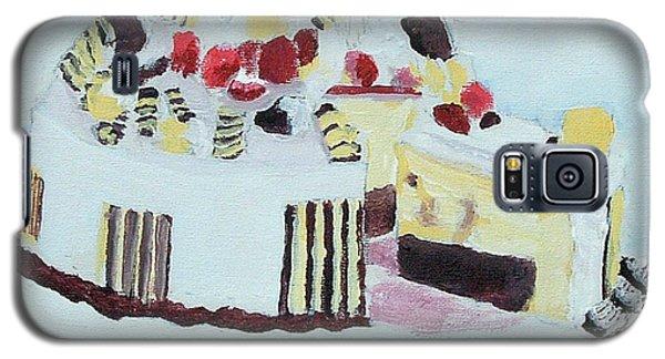 Ice Cream Cake Oil On Canvas Galaxy S5 Case