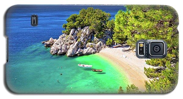 Idyllic Beach Punta Rata In Brela Aerial View Galaxy S5 Case