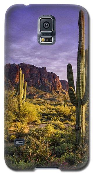 In The Desert Golden Hour  Galaxy S5 Case